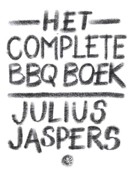 Boek cover Het complete BBQ boek van Julius Jaspers (Hardcover)