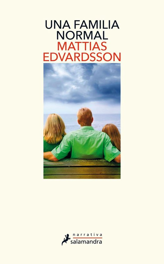 Boek cover Una familia normal van Mattias Edvardsson (Onbekend)