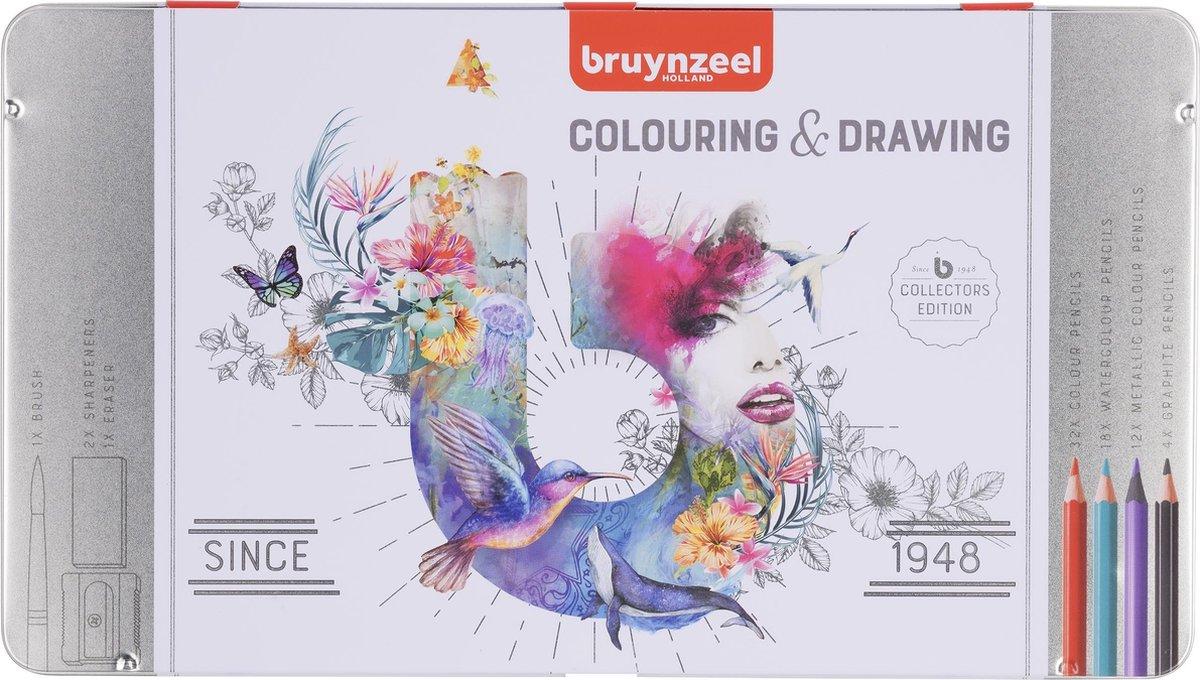 Bruynzeel Kleurblik - 70-delig