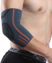 Elleboogbrace | elbow sleeve | elleboogband | elleboog bescherming | crossfit | fitness | powerliften | basketbal | tennis |compressieband | maat M