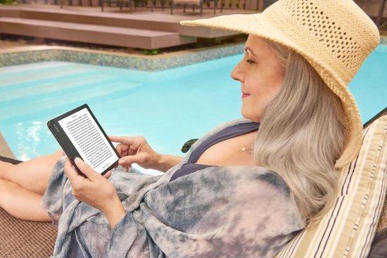 Libra H2O e-reader - Waterdicht - Grote 7 inch scherm - Instelbaar warme kleur - 8GB - Wifi - Zwart