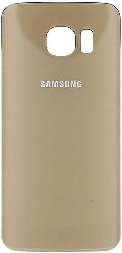 Samsung Galaxy S6 Edge - Achterkant - Gold Platinum