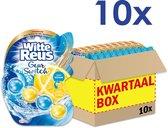Witte Reus Toiletblok Geur Switch - Oceaan Citrus - Voordeelverpakking- 10 stuks