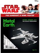Metal Earth Star Wars EP7 Poe Dameron's X-Wing Fighter
