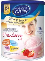 Weight Care Milkshake Drinkmaaltijd - Aardbei - 436 gram