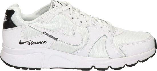 Nike Atsuma heren sneaker - Wit zwart - Maat 43