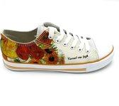 Van Gogh sunflower sneakers dames
