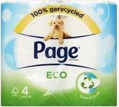 Page Toiletpapier Eco 4 rollen FSC