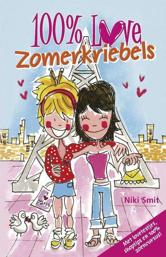 Cover van het boek '100% Love - Zomerkriebels' van Niki Smit