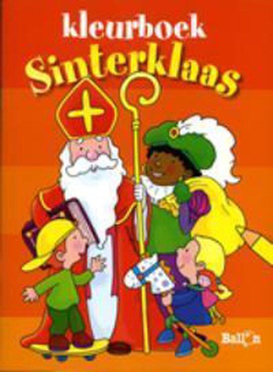 Kleurboek sinterklaas - Onbekend   Fthsonline.com