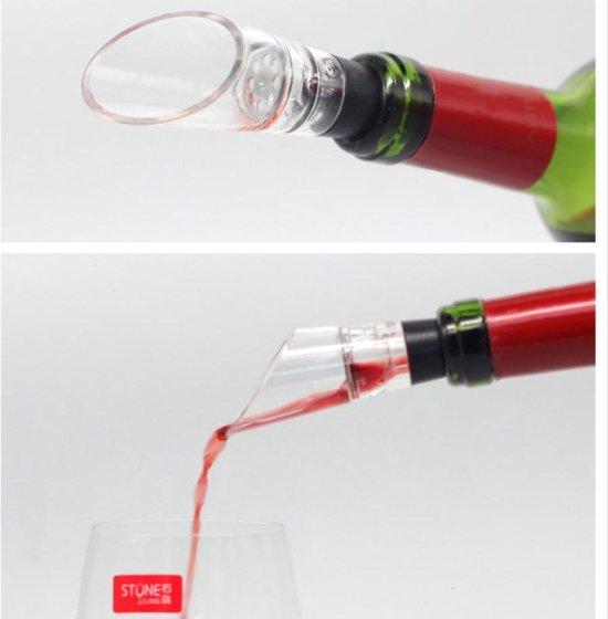 Wijndecanteerders - Decanteerder - Decanter - Wine - Beluchten - Wijnschenkers - Wijnbeluchters - Wit Rode Wijn - Beluchter - Flessenstop - Decanter - Schenker - Schenktuit