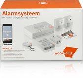 WoonVeilig Alarmsysteem - Startpakket voor complete huisbeveiliging tegen inbraak, brand & waterschade - Uitbreidbaar tot wel 160 verschillende accessoires