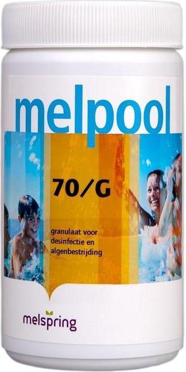 Melpool chloorgranulaat (70/G), 5 kilo