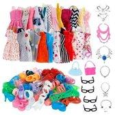WiseGoods - Barbie Kleding Set - Poppenkleren - Modepoppen - Kleertjes - Fashion - Outfit - Poppenkleertjes - 32 Stuks