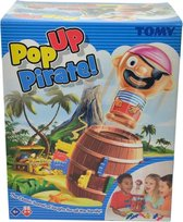 TOMY Pop Up Piraat - Kinderspel