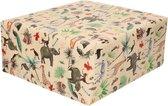 Rollen Inpakpapier/cadeaupapier jungle thema 300 x 70 cm - Cadeauverpakking kadopapier
