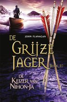 Boek cover De Grijze Jager 10 - De keizer van Nihon-Ja van John Flanagan