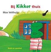 Boek cover Bij Kikker thuis van Max Velthuijs