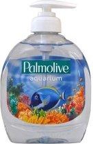 Palmolive Hygiene Plus Aquarium 3 x 300ml Handzeep kleur Gel lavant Antibacterieel Met pompje - Anti-bacterieel / Anti-bacteriële Zeep / Anti bacterieele handzeep