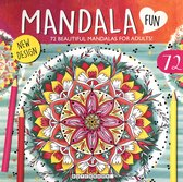 Mandala Kleurboek voor Volwassenen met 72 Kleurplaten