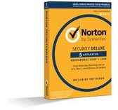 Norton Security Deluxe 5-Apparaten 1jaar 2020 - An