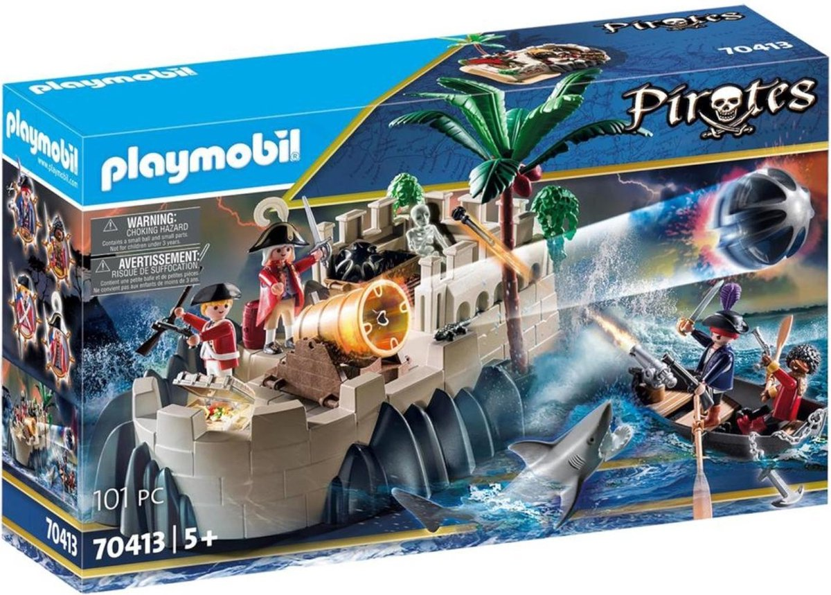 PLAYMOBIL Pirates Pirates Vesting van de soldaten - 70413
