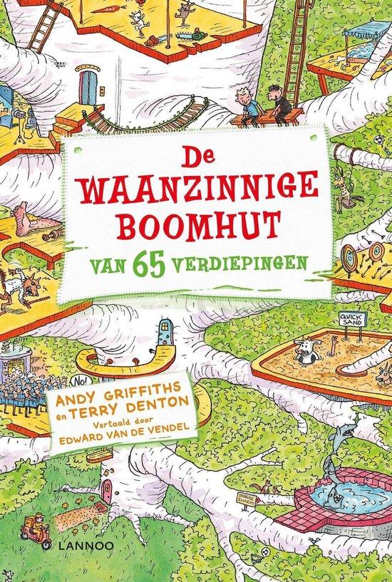 Boek cover De waanzinnige boomhut 5 - De waanzinnige boomhut van 65 verdiepingen van Andy Griffiths (Onbekend)