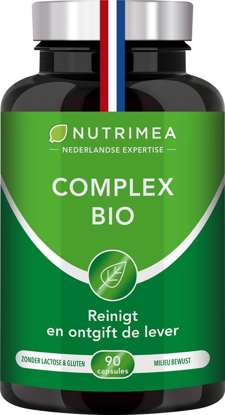 Afvallen - Detox - COMPLEX BIO - kurkuma - NUTRIMEA 90 capsules