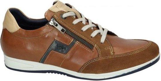 Fluchos -Heren -  cognac/caramel - sneakers - maat 44