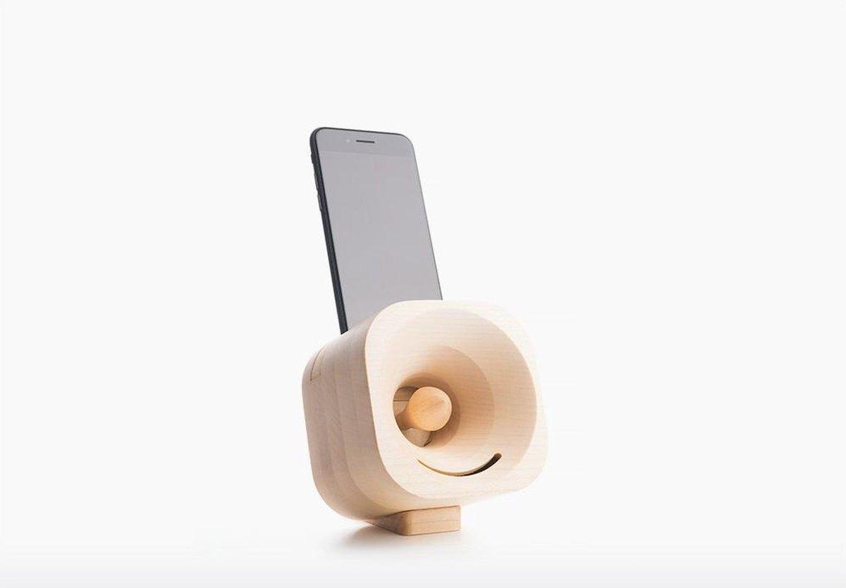 Trobla – Akoestische Versterker voor Smartphones – Esdoorn - Product Adapter: iPod Touch 5/6