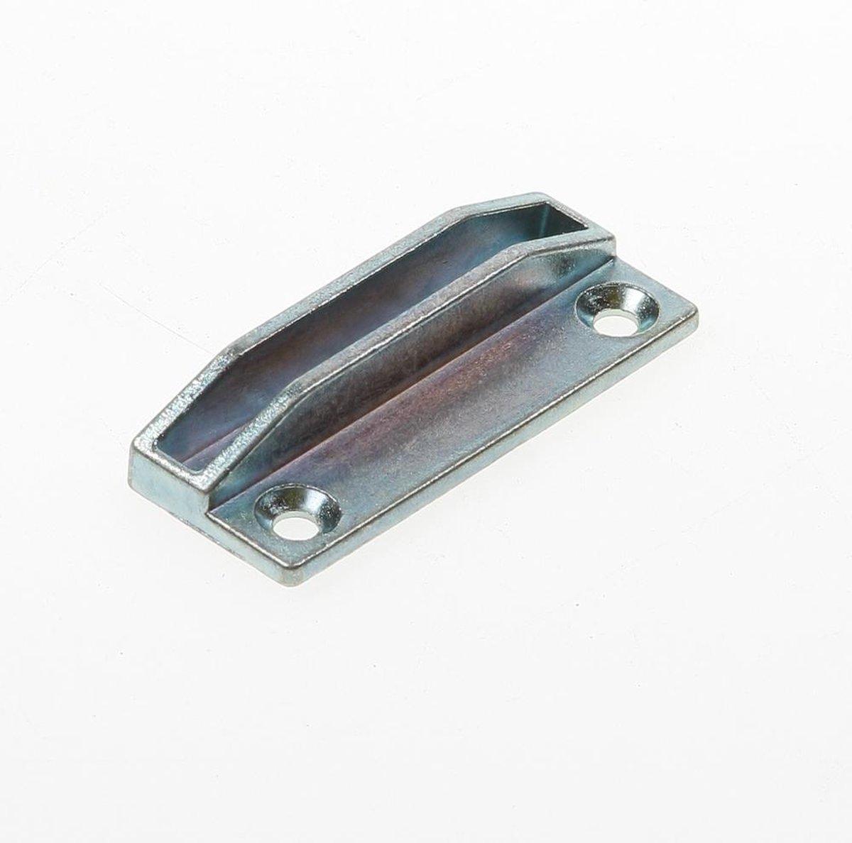 Dulimex RBP 6525B Raamboomplaatje / universeel / 65x25 mm / zamac / verzinkt