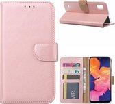Samsung Galaxy A10 - Bookcase Rose Goud - portemonee hoesje