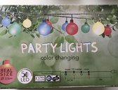 Party lights - 50 led - diverse kleuren - color changing - binnen en buiten