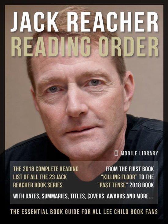 Omslag van Jack Reacher Reading Order