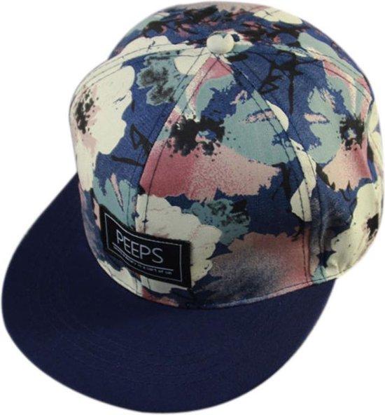 Snapback Pet Peeps Blue - One Size - Cap - Street - Hiphop - Elemental GOods