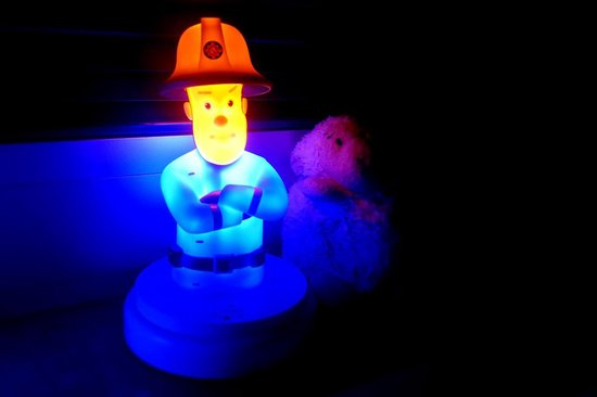Alecto Brandweerman Sam nachtlampje