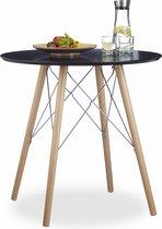 Nieuw bol.com   relaxdays - keukentafel klein - eettafel rond DC-89