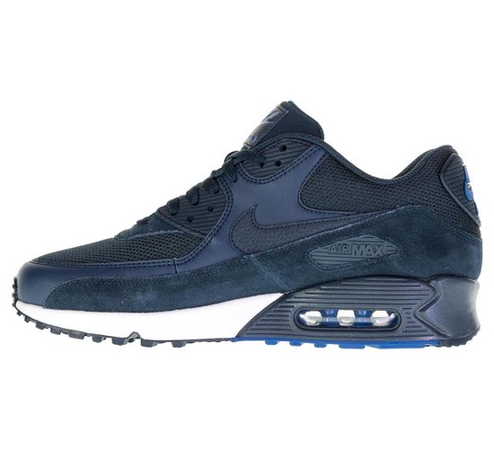 Nike Air Max 90 Essential Sneaker Heren Sportschoenen - Maat 44.5 - Mannen  - blauw
