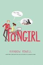 Boek cover Fangirl van Rainbow Rowell