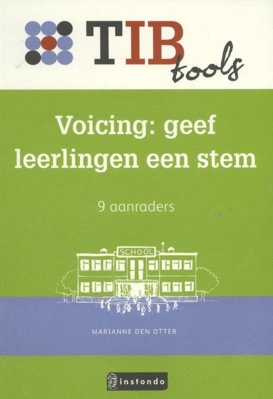 TIBtools - Voicing, geef kinderen een stem - Marianne den Otter |
