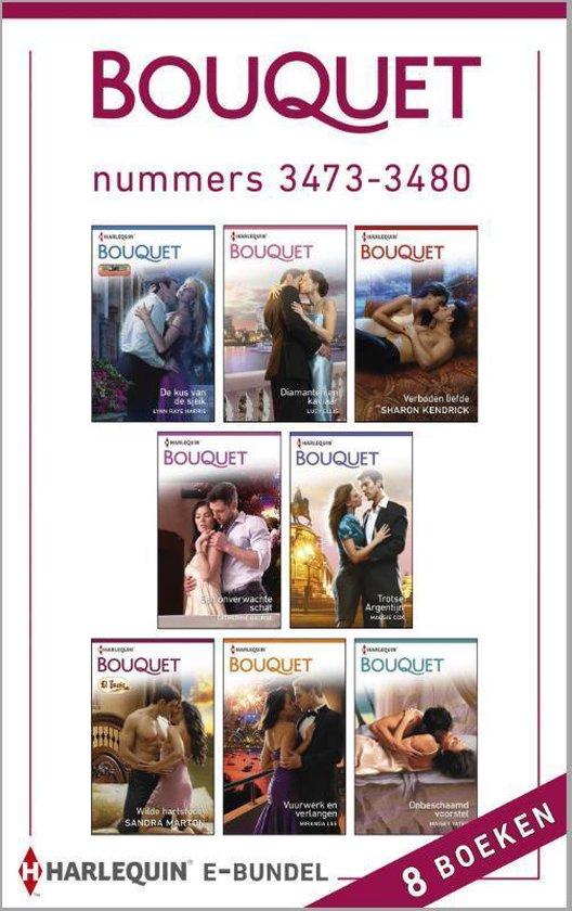 Bouquet e-bundel nummers 3473-3480, 8-in-1 - Maggie Cox |