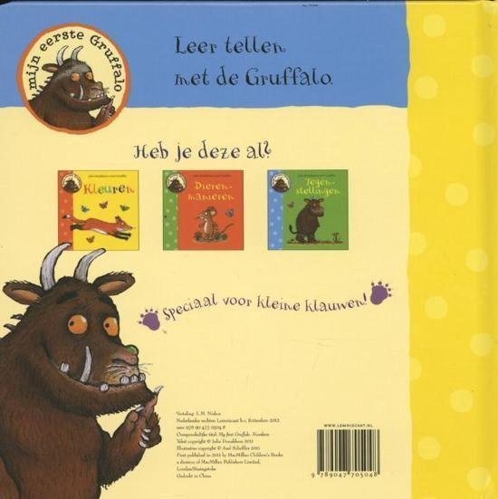 Lemniscaat Prentenboek: Mijn Eerste Gruffalo. Tellen