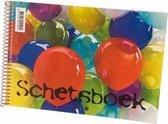 Schetsboek wit papier A4 Ballon