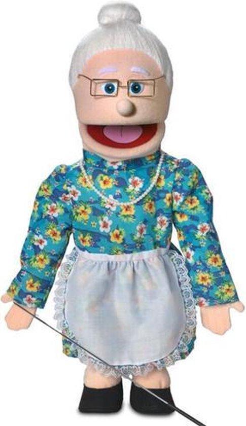 Handpop Grootmoeder Sillypuppets 25''