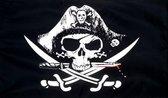 Crossed Sabres piratenvlag