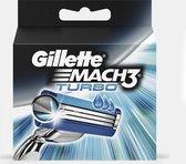 Gillette Mach 3 Turbo - 5 stuks - Scheermesjes
