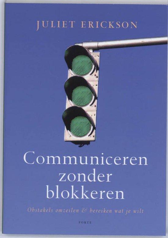 Communiceren zonder blokkeren - J. Erickson pdf epub