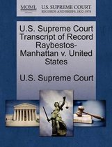 U.S. Supreme Court Transcript of Record Raybestos-Manhattan V. United States