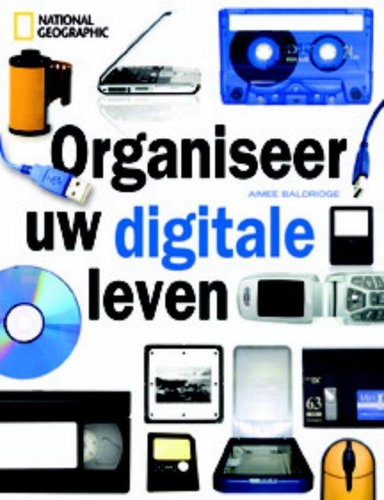 Cover van het boek 'Organiseer uw digitale leven'
