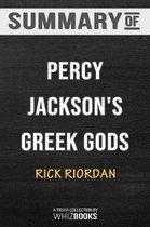 Summary of Percy Jackson's Greek Gods